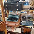 Typewriters, Wakefield Antique and Collectables Centre, Ridings Centre, Wakefield, West Yorkshire (8th December 2020).jpg