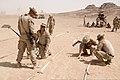 U.S. Marines assigned to Battalion Landing Team, 3rd Battalion, 2nd Marine Regiment, 26th Marine Expeditionary Unit conduct improvised explosive device lane training in Al Humayma, Jordan, June 9, 2013, during 130609-M-BS001-021.jpg