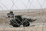 U.S. Marines with Marine Wing Support Squadron (MWSS) 271 use tractors at Camp Bastion in Helmand province, Afghanistan, Aug. 7, 2013 130807-M-SA716-097.jpg