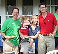 U.S. Republican Party of Wisconsin Chairman Reince Priebus, his wife Sally, and Congressman Paul Ryan in 2008.jpg