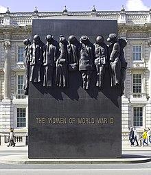 Monument Aux Femmes De La Seconde Guerre Mondiale Wikip 233 Dia
