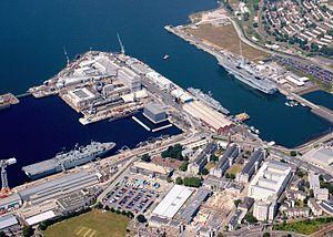 HMNB Devonport - Image: UK Defence Imagery Naval Bases image 14