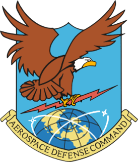 Aerospace Defense Command 1946-1980 United States Air Force major command responsible for air defense of the United States
