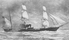Image illustrative de l'article USS Housatonic (1861)