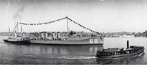 USS Shaw (DD-68) - Image: USS Shaw DD68