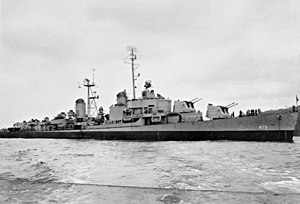 USS Henry W. Tucker (DD-875) in 1946