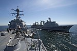 USS Jason Dunham replenishes from the French navy oiler FS Somme (150610-N-ZE250-060).jpg