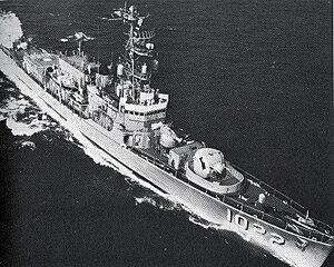 USS Lester (DE-1022) - Image: USS Lester (DE 1022)