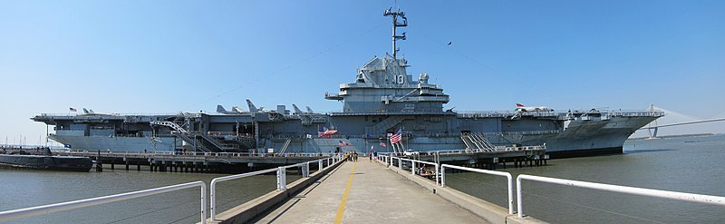 Panoramic image of Yorktown at Patriots Point