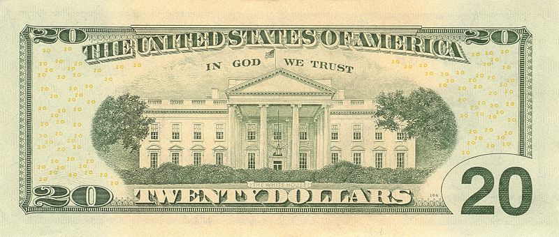 Twenty Dollar Bill $20