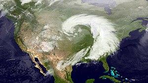 2013 Hattiesburg, Mississippi tornado - The storm system on February 10
