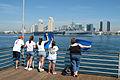 US Navy 040309-N-2517J-116 Families welcome the amphibious transport dock ship USS Ogden (LPD 5) home from deployment.jpg