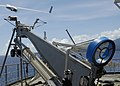 US Navy 070417-N-4790M-078 A Scan Eagle unmanned aerial vehicle is launched from USNS Stockham (T-AK 3017) to assess coastal damage to outlying islands from an April 2 earthquake and tsunami.jpg