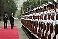 US Navy 090418-N-8273J-055 Chief of Naval Operations (CNO) Adm. Gary Roughead meets with Admiral Wu Shengli, Commander-in-Chief of the People's Liberation Army Navy, during a visit to the People's Liberation Army Navy headquart.jpg