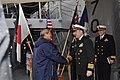 US Navy 100131-N-0776O-009 Sukumo, Japan Mayor tours USS Lake Erie.jpg