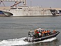 US Navy 110726-N-XK513-238 Congolese sailors participate in a boarding team operations course hosted by High Speed Vessel Swift (HSV 2).jpg