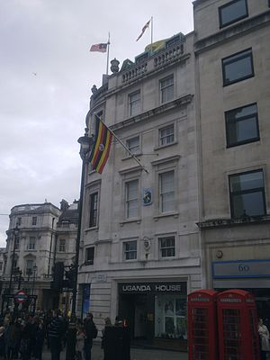 Embassy of Burundi, London - Image: Uganda House, London 1