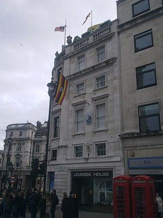 Embassy of Burundi, London - Image: Uganda House, London 1