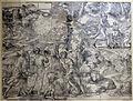 Ugo da carpi, sacrificio di isacco (da tiziano), xilografia, 1515.JPG