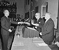 Uitreiking ANV-Visser Neerlandia-prijs aan Johan Bodegraven, Bestanddeelnr 910-9664.jpg