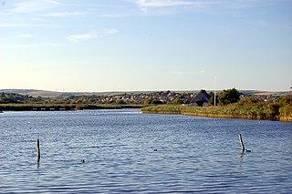 Radipole Lake A lake in Dorset, England