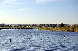 Weymouth, Dorset - Radipole Lake is a nature reserve close to the town centre.