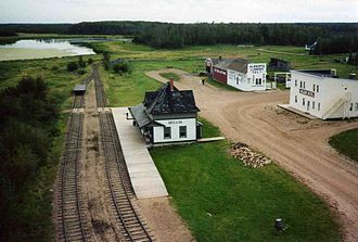Ukrainian Cultural Heritage Village - Image: Ukrainian village