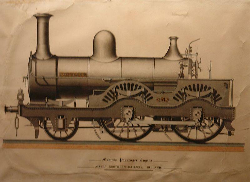 File:Ulster Transport Museum, Cultra, historic drawings 07.jpg