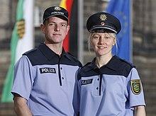 Polizeiuniform Deutschland Wikipedia