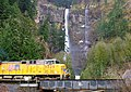 Union Pacific at Multnomah Falls (2251453140).jpg