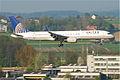 United Airlines Boeing 757-224; N57111@ZRH;16.04.2011 595dy (5629522338).jpg