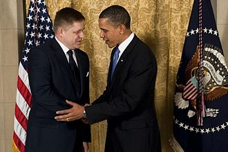 Robert Fico - U.S. President Barack Obama meets with Fico in the White House, 12 June 2014