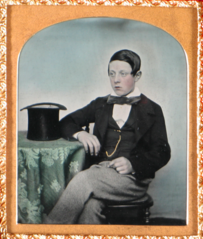 Portrait of Young Man Seated