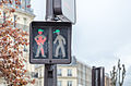 Upgraded traffic lights men at the Place de l'Europe, Paris April 2013.jpg