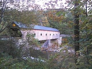 Upper Falls Covered Bridge