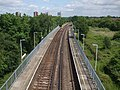 Upper Halliford stn high eastbound from roadbridge.JPG