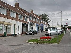 Upton, Dorset - Image: Upton, shopping parade geograph.org.uk 1515970