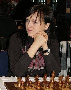 Anna Ushenina chess player