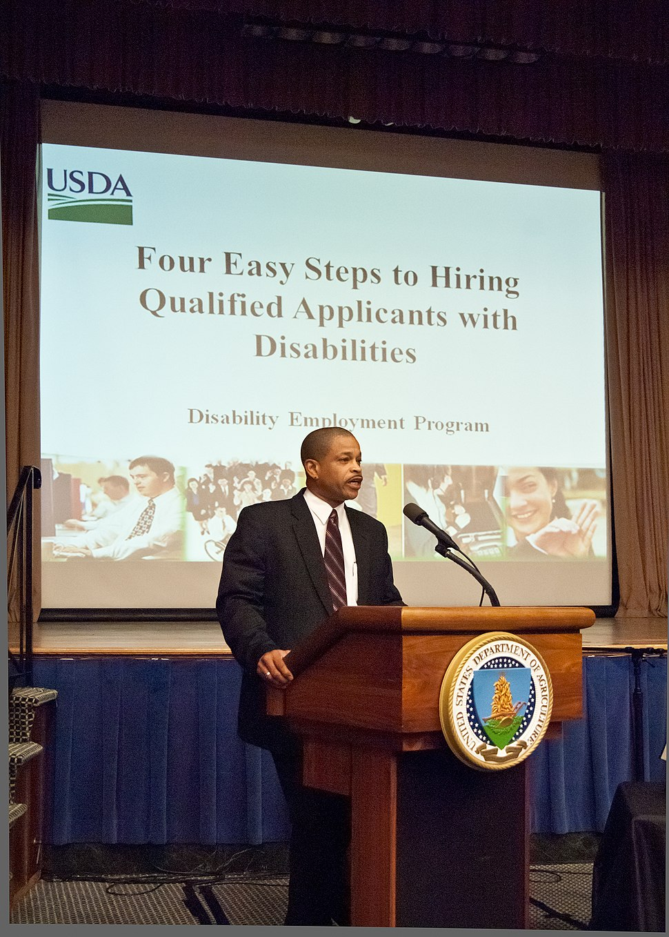 Usda hiring applicants with disabilities