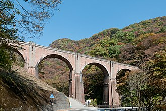 The Tomioka Silk Mill and Related Industrial Heritage - Image: Usui No 3 Bridge 04