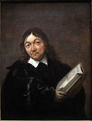 Portret van René Descartes (1596-1650)