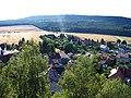 Výhled z Hudlické skály, směr Krušná hora.jpg