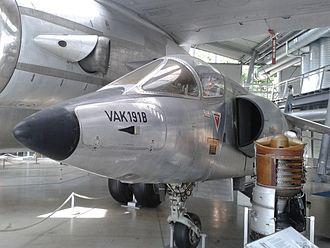 NBMR-3 - VFW VAK 191B on display at the Deutsches Museum Flugwerft Schleissheim