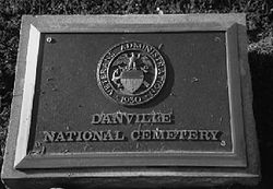 VA Plaque in Danville National Cemetery Kentucky.JPG