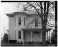 VIEW NORTH, SOUTH FRONT - Jesse Wolf House, 210 East Main Cross Street, Findlay, Hancock County, OH HABS OHIO,32-FIND,1-1.tif