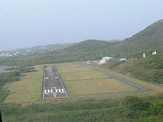 Antonio Rivera Rodríguez Airport - Image: VQS airport