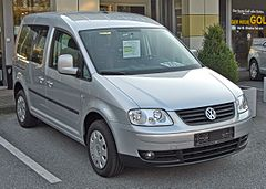 Volkswagen Caddy Life przed liftingiem