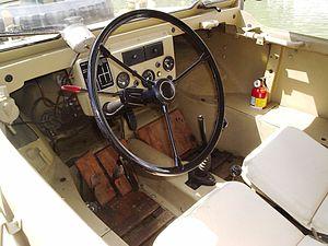 Volkswagen Schwimmwagen - Spartan interior of the Schwimmwagen