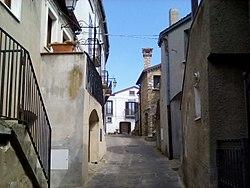 Vaglio Basilicata (Potenza) vicolo del nucleo fortificato 01.jpg