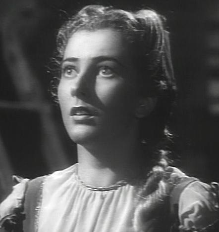 Valentina Cortese w scenie z filmu La Cena delle beffe (1941)